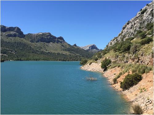 Gorg Blau, Mallorca
