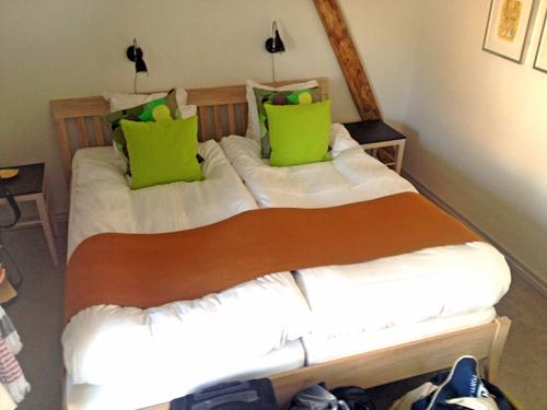 Vårt rum på Karnelund